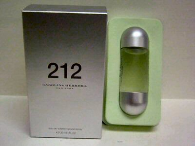 Carolina Herrera  : 212 BY CAROLINA HERRERA 30ML EDT SPRAY