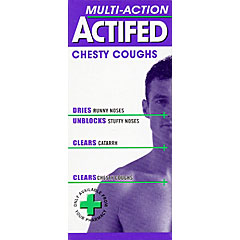 Actifed Multi-Action Chesty Coughs 100ml