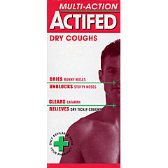 Actifed Multi-Action Dry Coughs 100ml