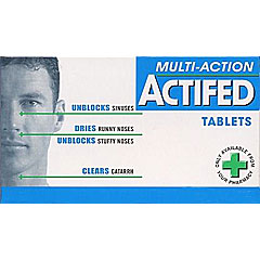 other : Actifed Multi-Action Tablets 12