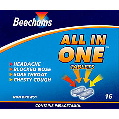 Beechams All In One Tablets No 16's