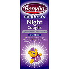 Benylin Childrens Night Cough 125ml