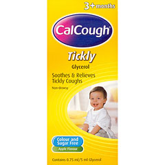 Calcough Tickly 125ml (3 months +)