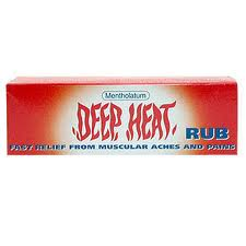 Deep Heat Rub Cream 67g