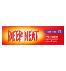 Deep Heat Rub Cream 100g