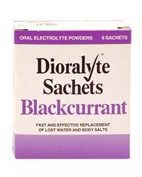 Dioralyte Sachets 6- Blackcurrant.
