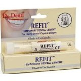 Dr denti refit temporary dental cement