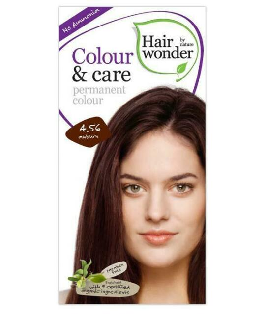 HairWonder Colour & Care Auburn 4.56-100ML