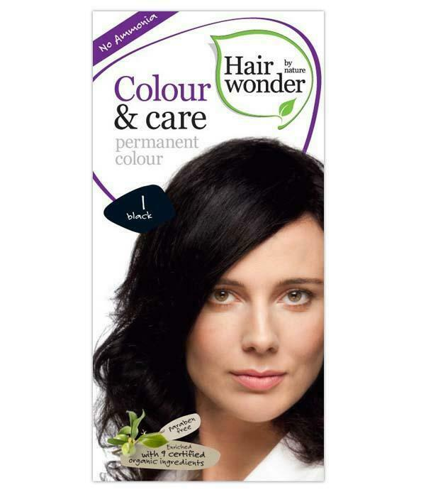 HairWonder Colour & Care Black 1-100ML