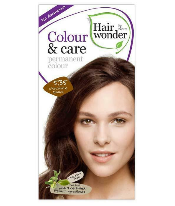 HairWonder Colour & Care Chocolate Brown-100ML