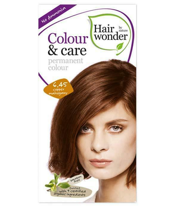 HairWonder Colour & Care Copper Mahogany 6.45-
