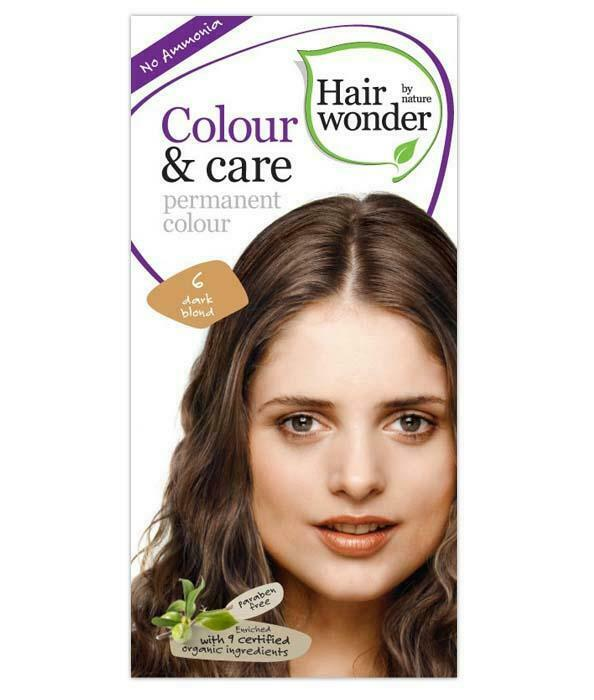 HairWonder Colour & Care Dark Blond 6-100ML