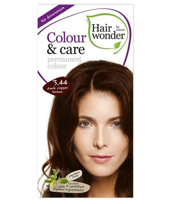 HairWonder Colour & Care Dark Copper Brown 3.44-100ML