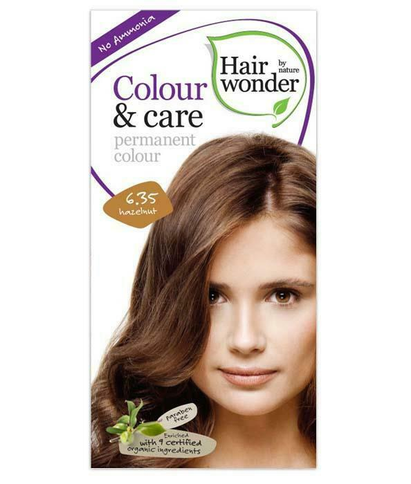HairWonder Colour & Care Hazelnut 6.35-100ML