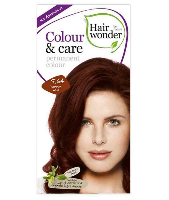 HairWonder Colour & Care Henna Red 5.64-100ML