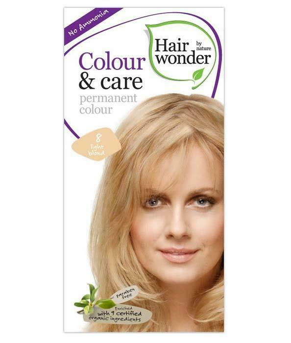 HairWonder Colour & Care Light Blonde 8-100ML