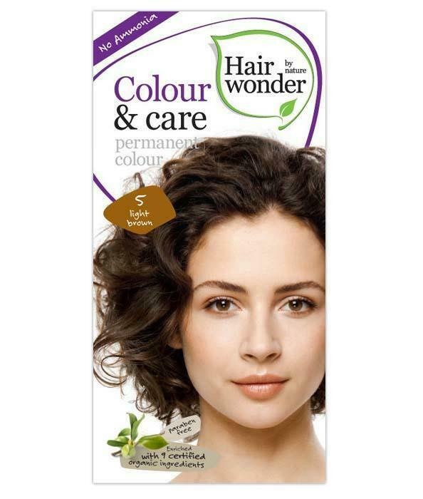 HairWonder Colour & Care Light Brown 5-100ML