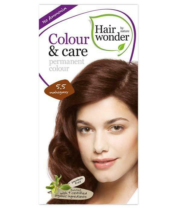 HairWonder Colour & Care Mahogany 5.5-100ML