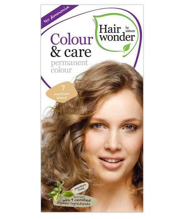 HairWonder Colour & Care Medium Blonde 7-100ML