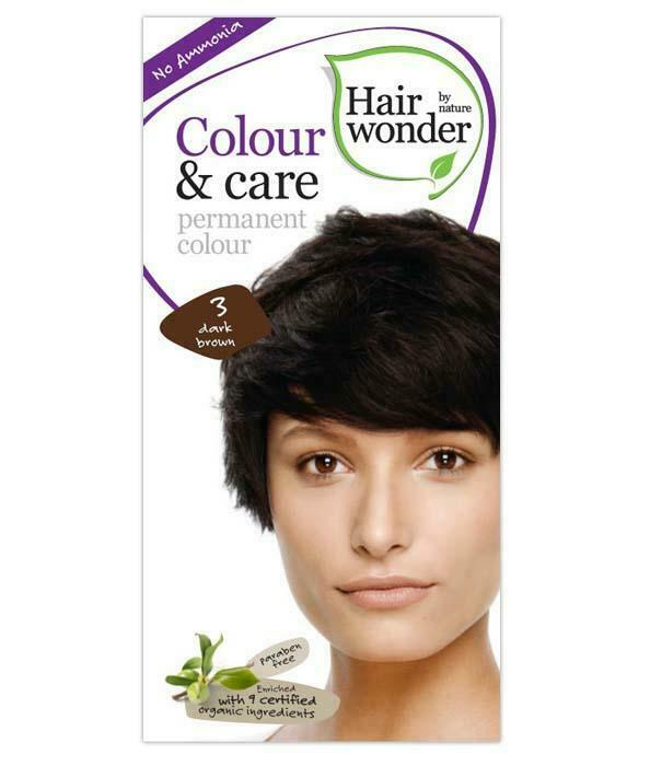 Hairwonder Colour & Care Dark Brown 3-100ML