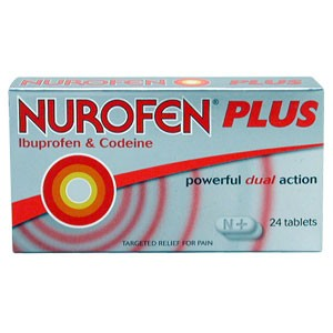 Nurofen : Nurofen Plus Tablets 24 (MAX OF TWO BOXES PER ORDER)
