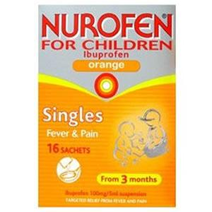 Nurofen For Children 16 Sachets
