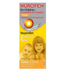 Nurofen : Nurofen for Children Orange Su 100ml
