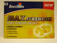 Beechams Max Strength Lozenges 10's
