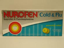 Nurofen Cold & Flu Tablets 12