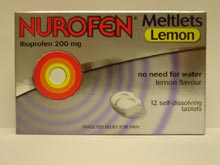 Nurofen Meltlets Tablets 12