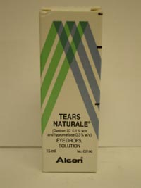 Tears Natural Eye Drops 15ml