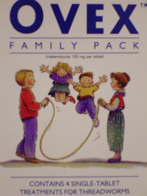 Ovex Family Pack Mebendazole 1 4