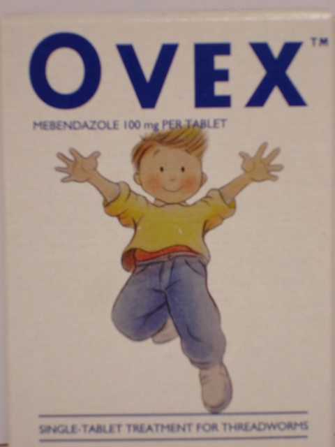 Ovex Tablets Mebendazole 100mg 1