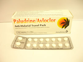 Paludrine (Proguanil)/Avloclor one week strip