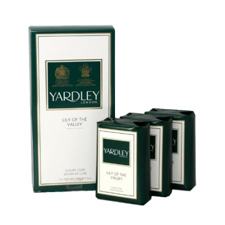 Yardley Lily of The Valley Luxury Soap 3 x 100g