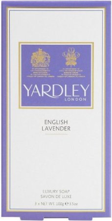 Yardley English Lavender Triple Pack Soaps 3 x 100gr