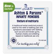 Ashton & Parsons Teething Powders 20 satchets