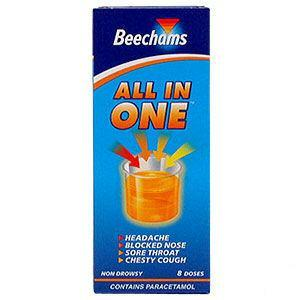 Beechams All In One Liquid 160ml