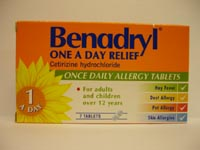 Benadryl Tablet One-a-Day 10mg 7's