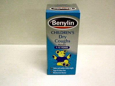 Benylin Childrens Dry Cough 125ml