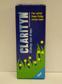 Clarityn Allergy Eye Drops 10ml