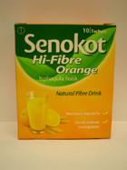 Senokot High Fibre Orange Sach 10