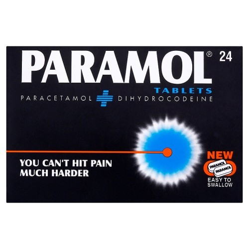 Paramol : Paramol Tablets 24 (MAX OF TWO BOXES PER ORDER)