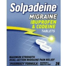 4Head : Solpadeine Migraine Tablete 24  (MAX OF TWO BOXES PER ORDER)