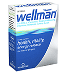 Vitabiotics : Wellman 30 Tablets