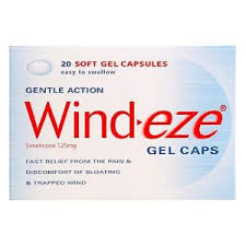 Wind-Eze Gel-caps Capsules 20